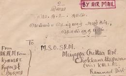ENVELOPE BURMA POSTES  CIRCLEE YEAR 1946 AUTRES MARQUES - BLEUP - Myanmar (Birmanie 1948-...)