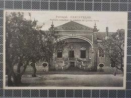 9155) Portugal Carcavelos Fachada Principal Do Edificio Da Quinta Nova - Lisboa
