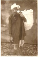 CARTE PHOTO : INDE INDIA AN INDIAN WASHERMAN DHOBI LAVEUR METIER LESSIVEUR LAVANDIER LAUNDRY - India
