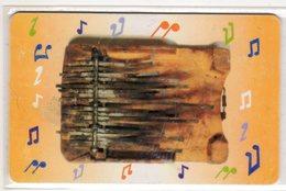 BOTSWANA REF MV CARDS BOT-14 P10 Woods Carved - Botswana