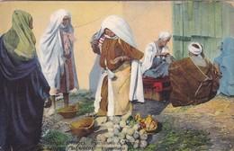 TANGER, MAROC. MARCHANDES DE LEGUMES. PHOTO NEUER. VOYAGEE CIRCA 1900s - BLEUP - Tanger