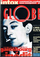 GLOBE N°60 . 1991. SPECIAL SERGE GAINSBOURG. - Musique