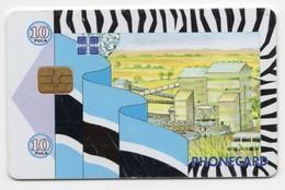 BOTSWANA REF MV CARDS BOT-12 P10 FACTORY - Botswana