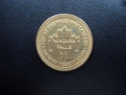 TOP OF THE FALLS RESTAURANT /  NIAGARA FALLS N.Y. /  NIAGARA RESERVATION * - Firma's