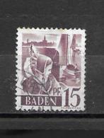 5 OBL  Y & T  Jeune Fille De Bodensee  *BADE ALLEMAGNE*  04/23 - Baden