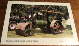 Marshall Road Roller No. 82842 'Goolie' ~ Photo: M. Hallows - Postcards