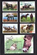 Cuba 2018 C18-19 Horses. Fauna MNH - Nuovi