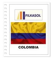 Suplemento Filkasol Colombia 2018 + Filoestuches HAWID Transparentes - Álbumes & Encuadernaciones