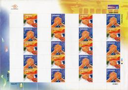 #12- Indonesia Personalized Stamp Sheet. PRISMA, Greeting 2007 Unused/blank  Rare - Indonesia