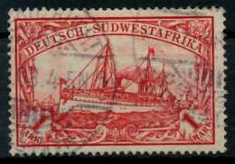 DSW Nr 20 Gestempelt X69CF02 - Kolonie: Deutsch-Südwestafrika