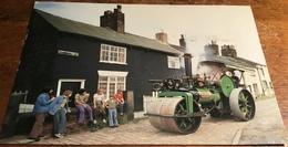 """Aveling And Porter (7632 Of 1912) 10 Ton, Single-cylinder Road Roller """"Alison"""" (Reg. No. DM 3079) - Postcards"""