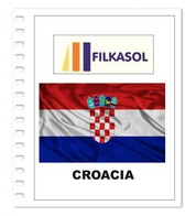 Suplemento Filkasol Croacia 2018 - Ilustrado Para Album 15 Anillas - Pre-Impresas