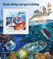 Sierra Leone 2015  Scuba Diving And Sport Fishing - Sierra Leone (1961-...)