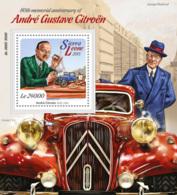 Sierra Leone 2015  André Gustave Citroën  , Car - Sierra Leone (1961-...)
