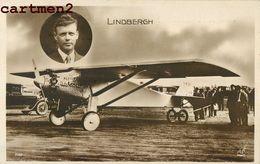 L'AVIATEUR LINDBERGH TRAVERSEE DE L'ATLANTIQUE AVION SPIRIT OF ST-LOUIS AVIATION - Airmen, Fliers