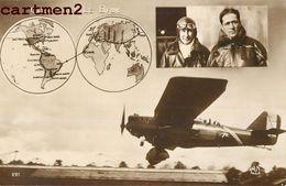 AVIATEURS COSTES ET LE BRIX TRAVERSEE DE L'ATLANTIQUE AVIATION - Airmen, Fliers