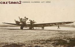 AVION COMPAGNIE ALLEMANDE LUFT HANSA AVION JUNKER Lufthansa AEROPORT DU BOURGET - 1919-1938: Between Wars