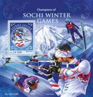 Sierra Leone 2016 Champions Of Sochi Winter Games - Sierra Leone (1961-...)