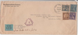 U.S. / Airmail / Maritime Mail / India / 1939 Censorship - Vereinigte Staaten