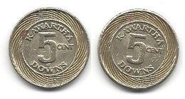 Kawartha Downs Slots Ontario Canada 5 Cent Token - Casino