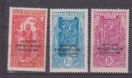CONGO   N° YVERT  :  106/108       NEUF SANS  CHARNIERES          (NSCH 1/22 ) - Congo Français (1891-1960)