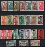 CONGO   N° YVERT  :  113/134       NEUF SANS  CHARNIERES          (NSCH 1/22 ) - Congo Français (1891-1960)