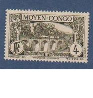 CONGO   N° YVERT  :  115     NEUF SANS  CHARNIERES          (NSCH 1/22 ) - French Congo (1891-1960)