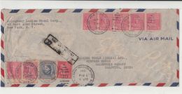 U.S. / Airmail / India / Censorship - Vereinigte Staaten