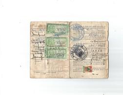 Permis De Chasse Avec Vignettes - Stamps