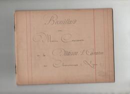 Brouillard Ou Main Courante De La Maison Coiraton 1894 Les Charpennes Lyon Villeurbanne - Non Classés