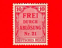 GERMANIA - Nuovo - 1903 - Francobollo Ufficiale Per La Prussia - Official Stamp - Num. 21 - 10 - Nuovi