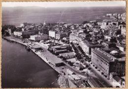 X20083 → Peu Commun AJACCIO Vue Générale Aérienne Port Place FOCH Corse-Sud 1950s CORSICA Photo-Bromure COMBIER 2407 - Ajaccio