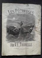 PARTITION LES PÊCHEUSES - Partitions Musicales Anciennes