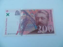Billet De 200 Francs 1996 - 1992-2000 Ultima Gama
