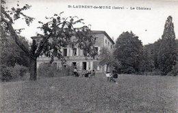 St LAURENT De MURE  Le Château - France