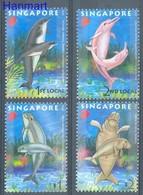 Singapore 2006 Mi 1535-1538 MNH ( ZS8 SNG1535-1538dav36B ) - Mammifères Marins
