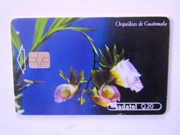 1   CARD GUATEMALA  ORCHIDDEE   1/4 - Guatemala