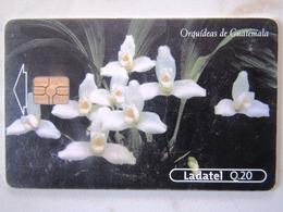 1   CARD GUATEMALA  ORCHIDDEE   2/4 - Guatemala
