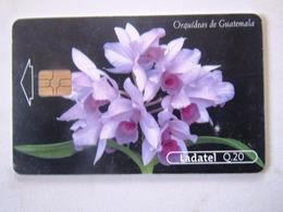 1   CARD GUATEMALA  ORCHIDDEE   3/4 - Guatemala