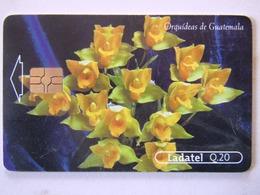 1   CARD GUATEMALA  ORCHIDDEE   4/4 - Guatemala