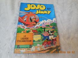 Jojo Et Jimmy Le Liquide Escamoteur,1967.FRANS PIET - Jojo