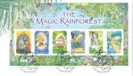 Australia 2002 The Magic Rainforest Minisheet FDC - FDC