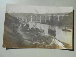 ANGLETERRE CORNWALL / SCILLY ISLES CALSTOCK VIADUCT CONSTRUCTION   CARTE PHOTO - Inghilterra