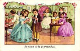 CPA FANTAISIE - AU PALAIS DE LA GOURMANDISE - Autres