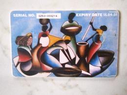 1 CARD OUGANDA  PUBLICOM - Ouganda