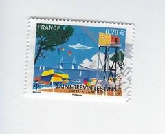 Série Touristique Saint-Brévin-Les-Pins N°5047 Oblitéré Année 2016 - France