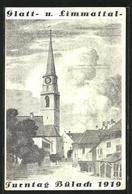 Künstler-AK Bülach, Turntag 1919, Glatt Und Limmattal - ZH Zurich