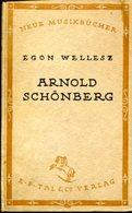 Arnold Schönberg. - Alte Bücher