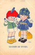 """¤¤   -    Illustrateur  """" KETTY """"  -  Petits Enfants  -  Voyage De Noce   -  ¤¤ - Autres Illustrateurs"""