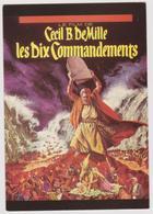 Cecil B. DeMille - Les Dix Commandements - Ed. F. NUGERON N° NE 304 - Manifesti Su Carta